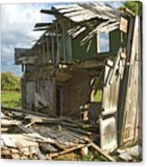 Storm Blown House-1 Canvas Print