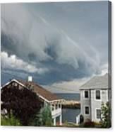 Storm Cloud Over Pigeon Cove Canvas Print