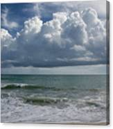 Storm Clouds Above The Atlantic Ocean Canvas Print