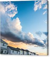 Storm Clouds In The Sunset Canvas Print