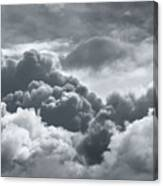 Storm Clouds Over Sheboygan Canvas Print