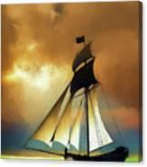 Storm Comes Canvas Print