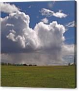 Storm Happening Canvas Print