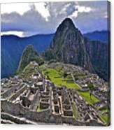 Storm Inbound To Machu Picchu Canvas Print