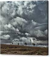 Storm Morocco Canvas Print