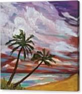 Storm Of Contrast Canvas Print