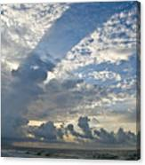 Storm On The Gulf Canvas Print