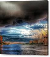 Storm On The Way Canvas Print