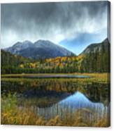 Storm Over Cub Lake Canvas Print