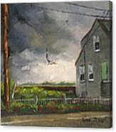 Storm Over Hull Jr Canvas Print
