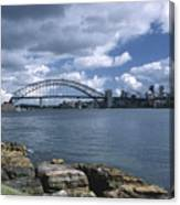 Storm Over Sydney Harbor Canvas Print