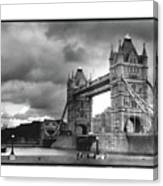 Storm Over Tower Bridge Canvas Print