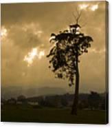 Storm Over Wilmot Canvas Print