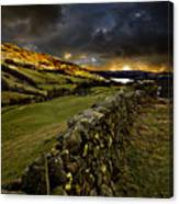 Storm Over Windermere Canvas Print