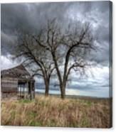 Storm Sky Barn Canvas Print