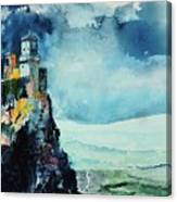 Storm The Castle Canvas Print