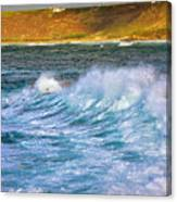Storm Wave Canvas Print