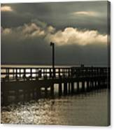 Storms Brewin' Canvas Print