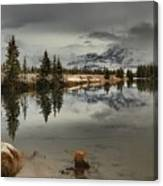 Storms Over Talbot Lake Canvas Print