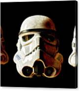 Stormtrooper 1-3 Weathered Canvas Print