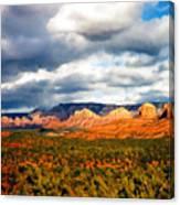 Stormwatch Arizona Canvas Print
