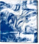 Stormy Abstract Canvas Print