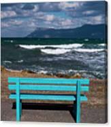 Stormy Aegean Sea Canvas Print