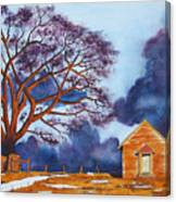 Stormy Afternoon Canvas Print