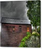 Stormy Barn Canvas Print