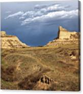 Stormy Day At Mitchell Pass Canvas Print