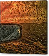 Stormy Drive Canvas Print