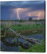 Stormy Evening Canvas Print