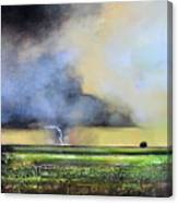 Stormy Field Canvas Print