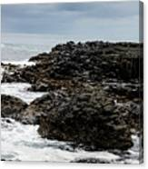 Stormy Giant's Causeway Canvas Print