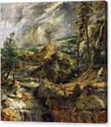 Stormy Landscape -  1625 Peter Paul Rubens Canvas Print