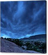 Stormy Night Sky Arches National Park - Utah Canvas Print