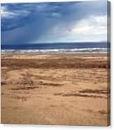 Stormy Nye Beach Canvas Print