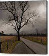 Stormy Roads Canvas Print