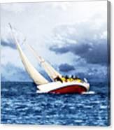 Stormy Sea Canvas Print