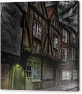 Stormy Shambles Canvas Print