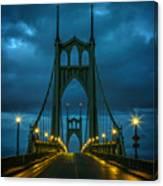 Stormy St. Johns Canvas Print