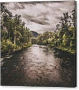 Stormy Streams Canvas Print