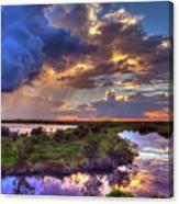 Stormy Sunrise Canvas Print