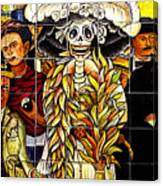 Story Of Mexico 7 Canvas Print