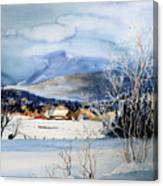 Stowe Valley Farm Canvas Print