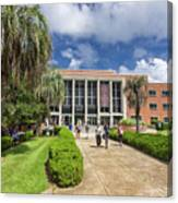 Stozier Library At Florida State University Canvas Print