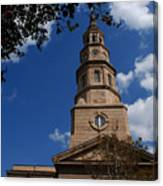St.philips Church Charleston Sc Canvas Print