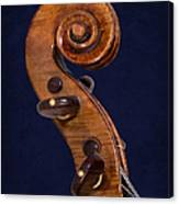 Stradivarius Scroll Canvas Print