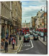 Strand Street, London. Canvas Print