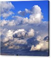 Strange Clouds Canvas Print
